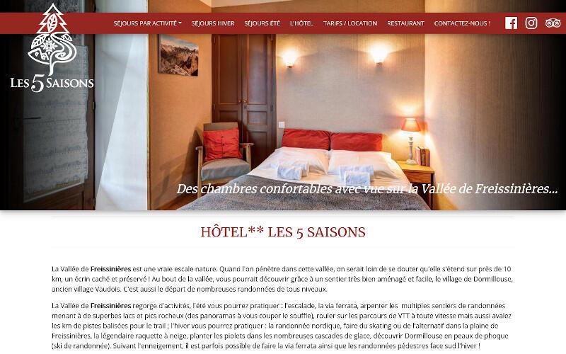 HOTEL LES 5 SAISONS