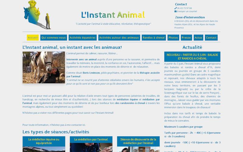 L'INSTANT ANIMAL