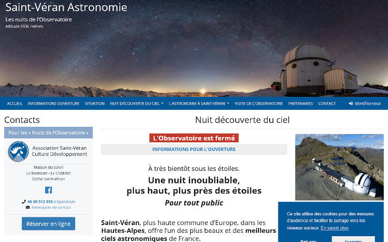 ASTRONOMIE SAINT VERAN